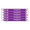 Brady Rohrmarkierer: Acetychloride | Niederländisch | Säuren und Laugen