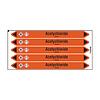 Brady Rohrmarkierer: Acetychloride | Niederländisch | Säuren