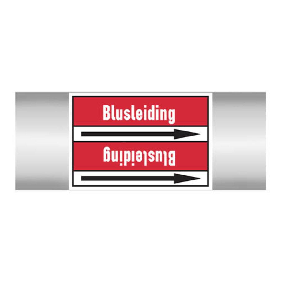 Rohrmarkierer: Bluswater | Niederländisch | Blusleiding