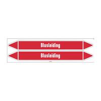 Rohrmarkierer: Hydrant leiding | Niederländisch | Blusleiding