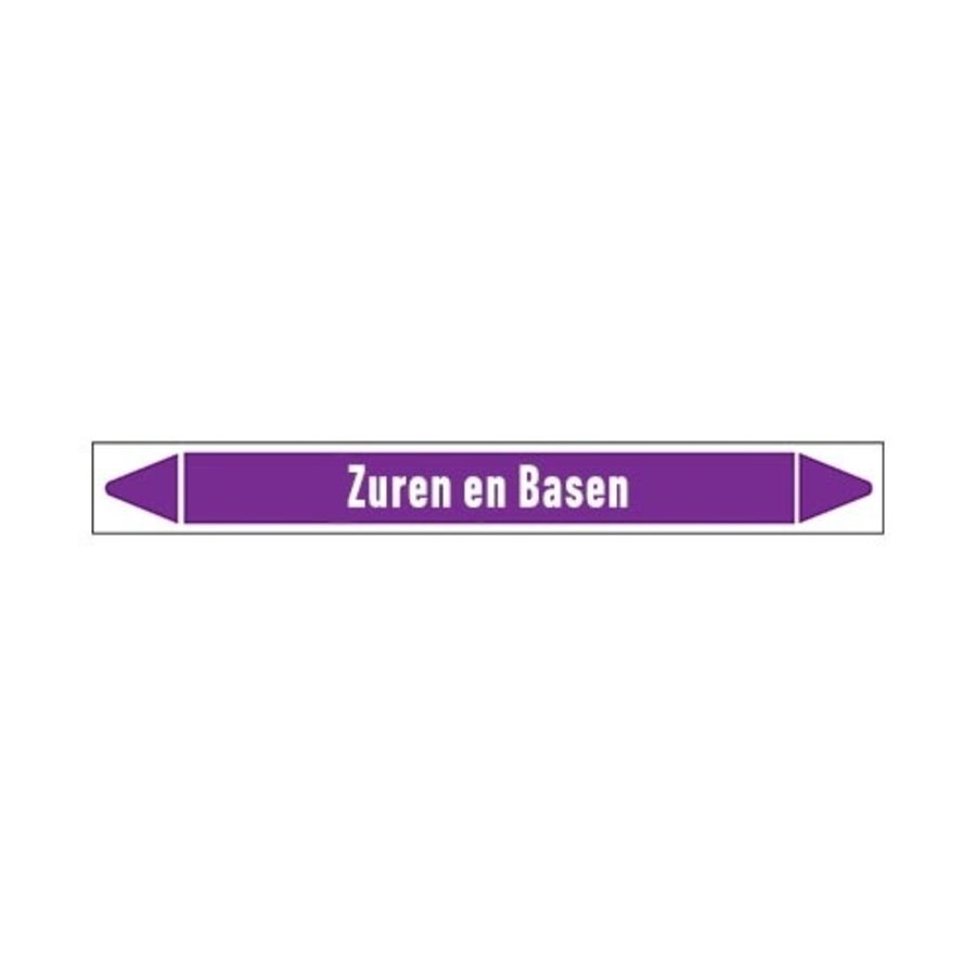 Rohrmarkierer: Afvoer (zuur) | Niederländisch | Säuren und Laugen