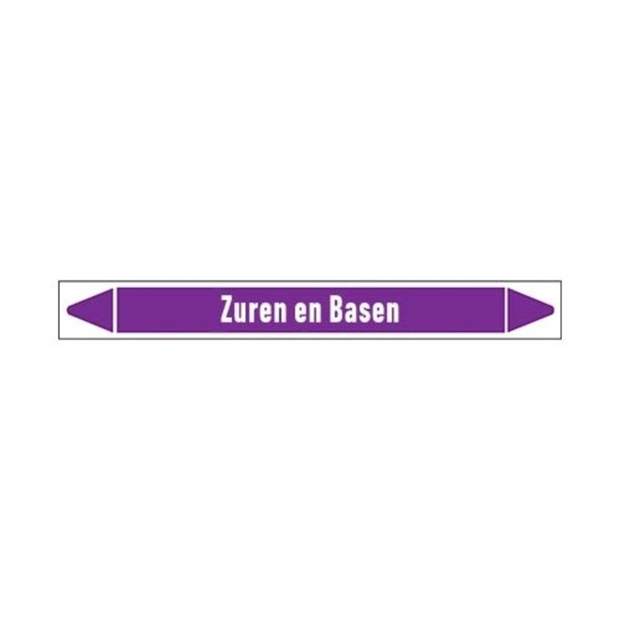 Rohrmarkierer: Vers zuur  | Niederländisch | Säuren und Laugen