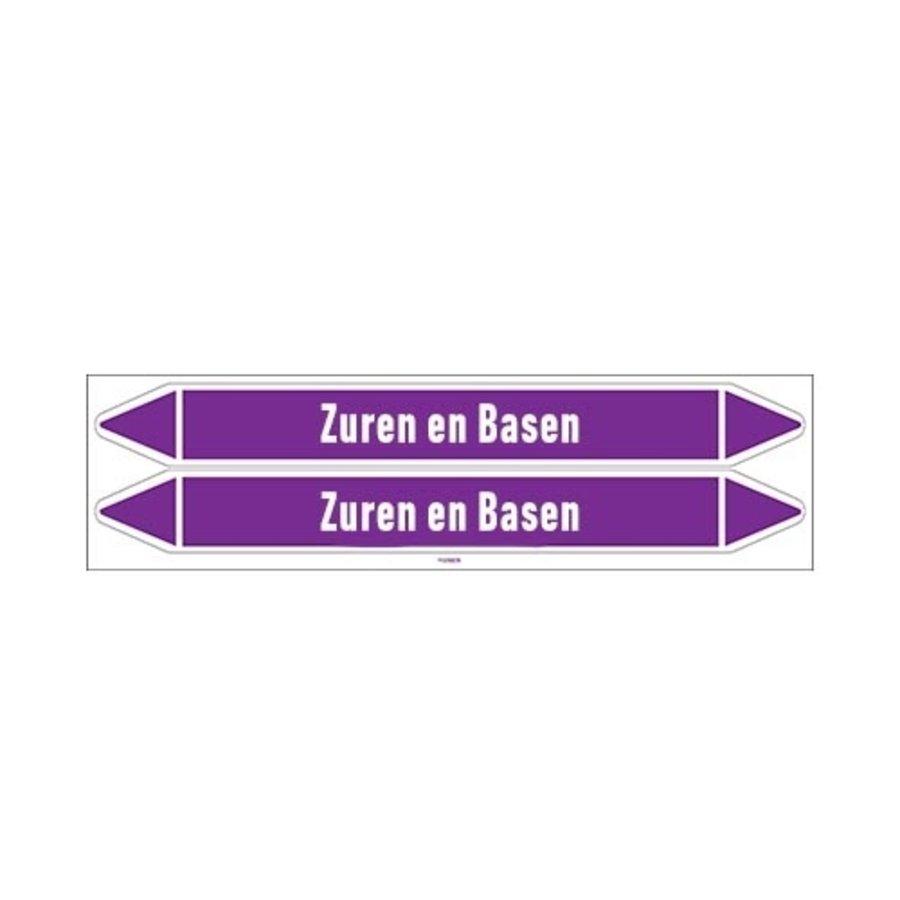 Rohrmarkierer: Zuur    Niederländisch   Säuren und Laugen
