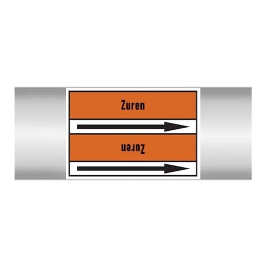 Rohrmarkierer: Zure oplossing | Niederländisch | Säuren