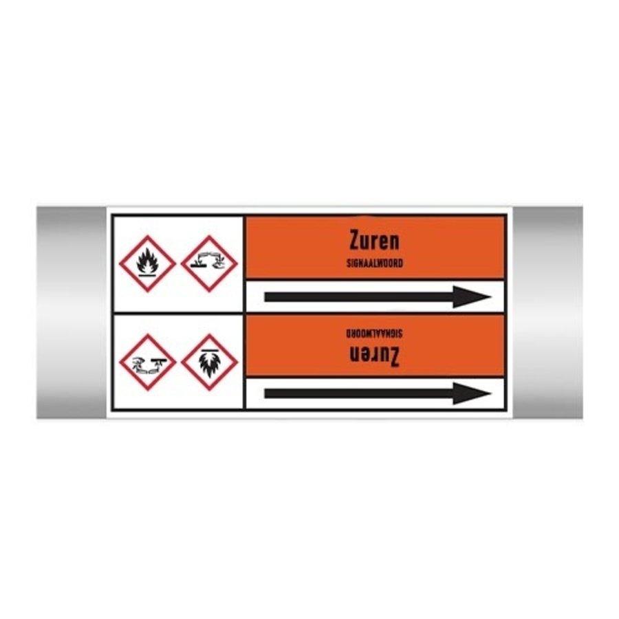 Rohrmarkierer: Zwavelzuur 10%  | Niederländisch | Säuren