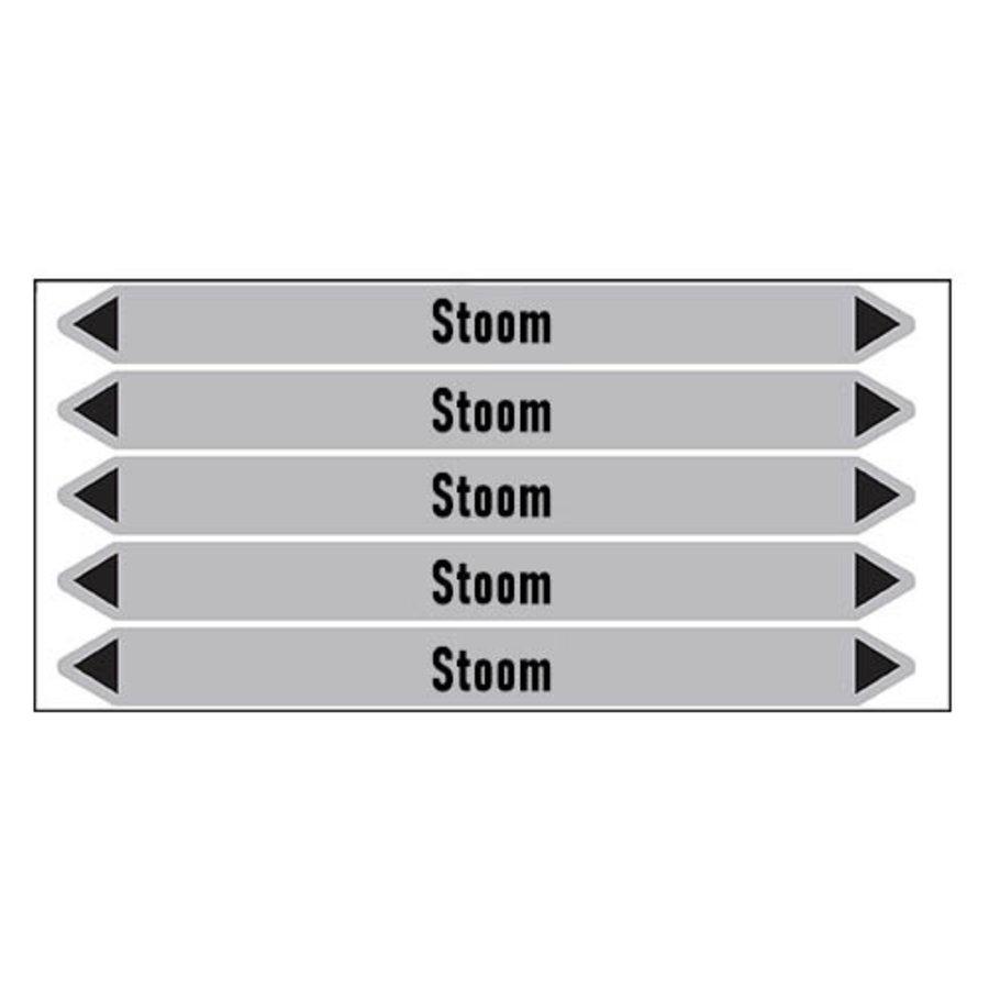 Rohrmarkierer: stoom 3 bar | Niederländisch | Dampf