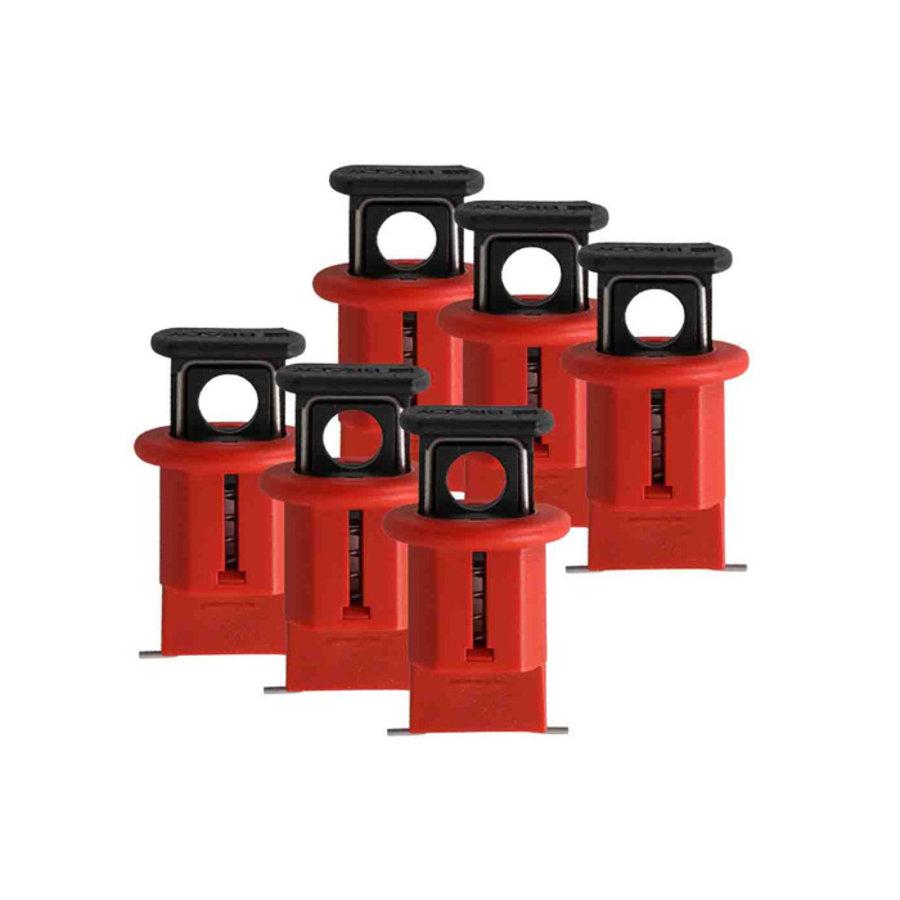 Miniatur-Verriegelungssysteem für Schutzschalter (Pin-Out Wide) 090850, 090851