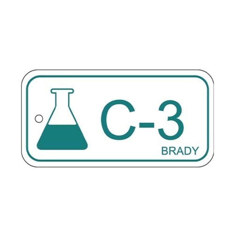 Identifizierungsanhänger Chemikalien