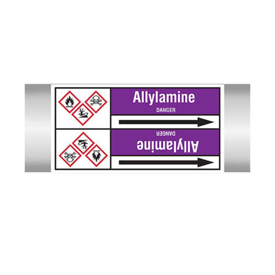 Rohrmarkierer: Allylamine | Englisch | Säuren und Laugen