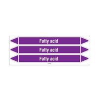 Rohrmarkierer: Fatty acid | Englisch | Säuren und Laugen
