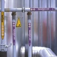 Rohrmarkierer: Ferric chloride   Englisch   Säuren und Laugen