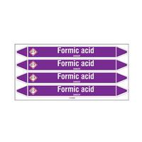 Rohrmarkierer: Formic acid   Englisch   Säuren und Lauge