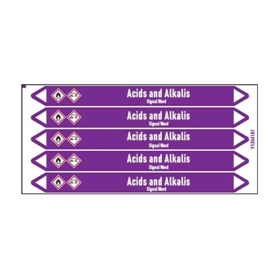 Rohrmarkierer: Oxalic acid | Englisch | Säuren und Laugen