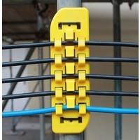 Heavy Duty Kabelschiene für 3 Kabel