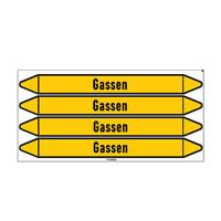 Rohrmarkierer: Gas   Niederländisch   Gase