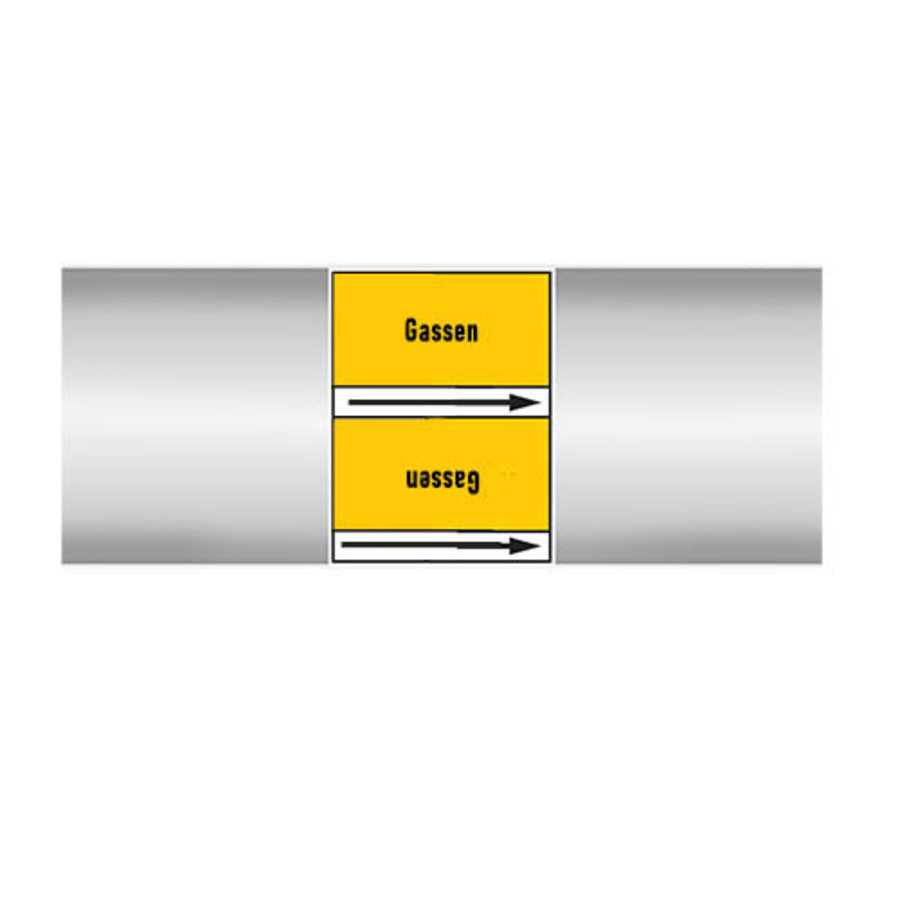 Rohrmarkierer: Koolstofdioxide   Niederländisch   Gase