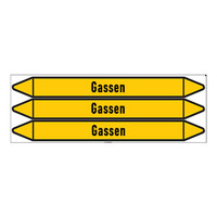 Rohrmarkierer: Vacuum  | Niederländisch | Gase