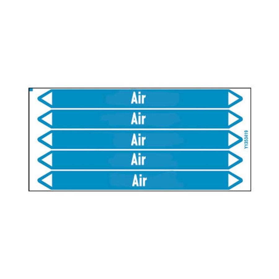 Rohrmarkierer: Primary ventilation | Englisch | Luft