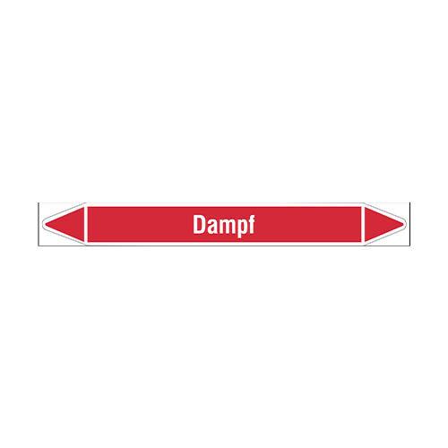 Rohrmarkierer: Brüdendampf | Deutsch | Dampf