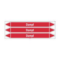 Rohrmarkierer: Dampf | Deutsch | Dampf