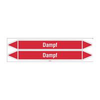 Rohrmarkierer: Dampf 1,5 bar | Deutsch | Dampf