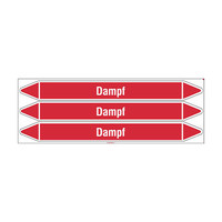 Rohrmarkierer: MD Dampf | Deutsch | Dampf