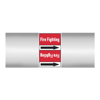 Rohrmarkierer: Foam   Englisch   Dampf