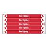 Brady Rohrmarkierer: Fire network | Englisch | Dampf