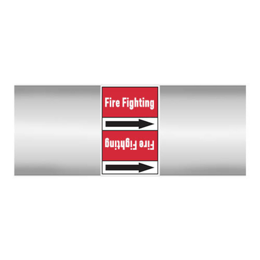 Rohrmarkierer: Sprinkler   Englisch   Dampf