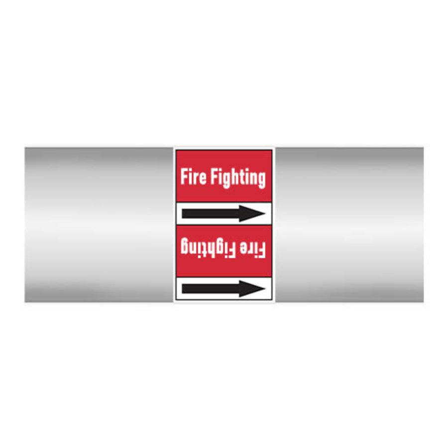 Rohrmarkierer: Sprinkler network | Englisch | Dampf