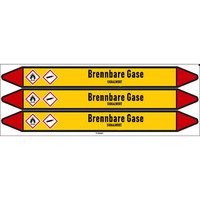Rohrmarkierer: Buten | Deutsch | Brennbare Gase
