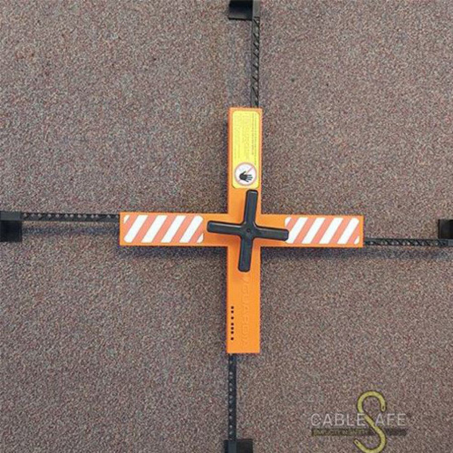 Mannloch-Abdeckung Verstellbare Sicherheitskreuz