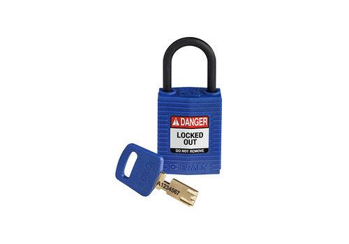SafeKey Kompakt nylon Sicherheits-vorhängeschloss blau 150183