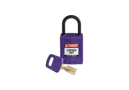SafeKey Kompakt nylon Sicherheits-vorhängeschloss lila 150186