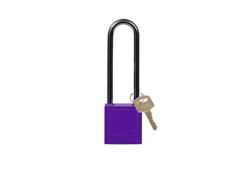 Nylon Kompakte Sicherheits-vorhängeschloss violett 814151