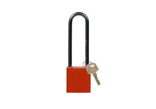 Nylon Kompakte Sicherheits-vorhängeschloss rot 814146