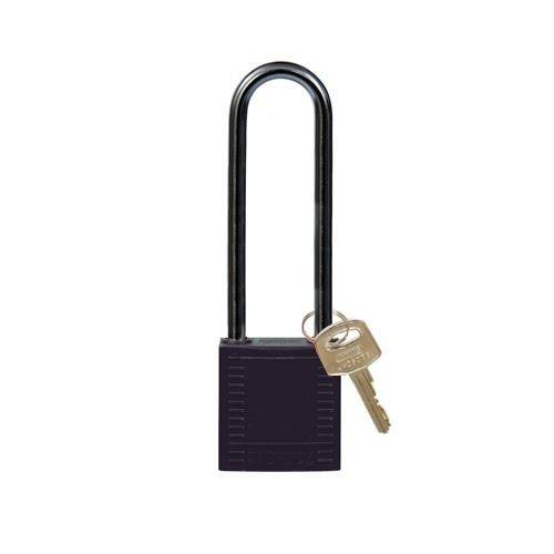 Nylon Kompakte Sicherheits-vorhängeschloss schwarz 814145