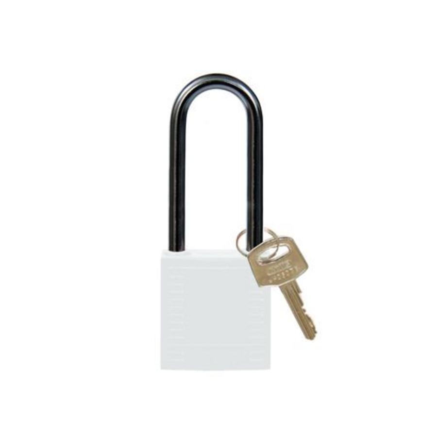 Nylon Kompakte Sicherheits-vorhängeschloss weiss 8141242