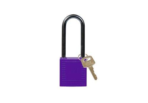 Nylon Kompakte Sicherheits-vorhängeschloss violett 814141