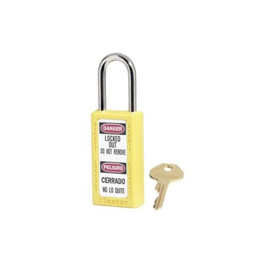 Zenex Sicherheits-vorhängeschloss gelb 411YLW - 411KAYLW