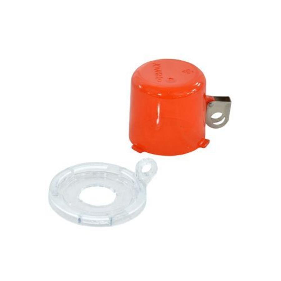 Drucktastenverriegelung rot 134018-130821
