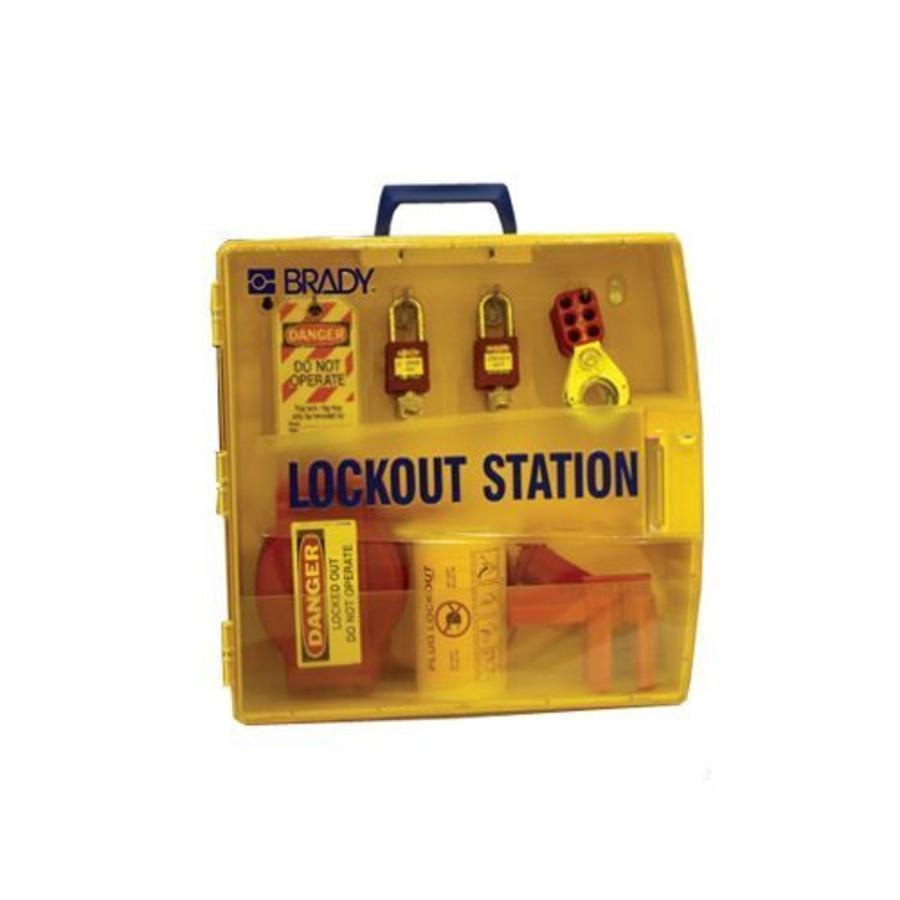 Tragbare Lockout-Station 811217