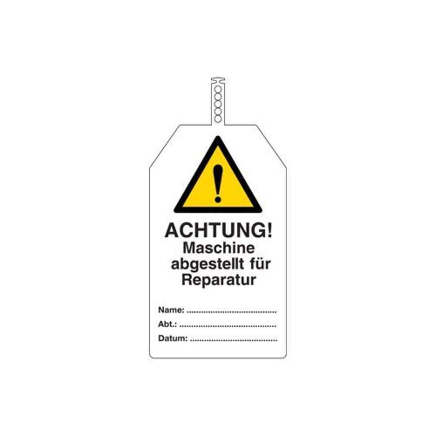 Sicherheitsanhänger Deutsch