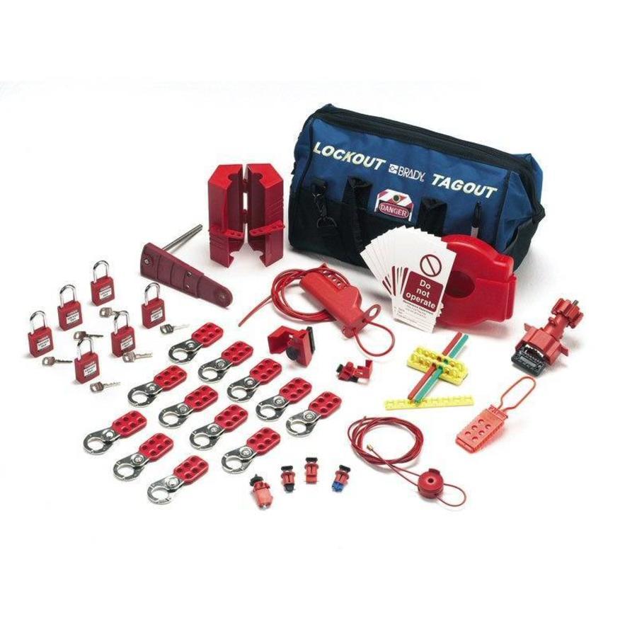 Lockout-Set für Ventile und elektrische Anlagen 806193
