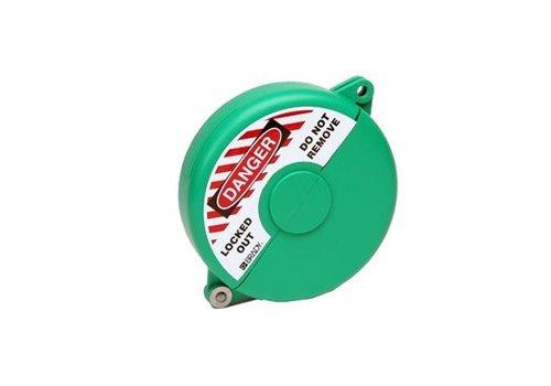 Absperrventilverriegelungen grün 065595-065599