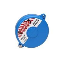 Absperrventilverriegelungen blau 065585-065589