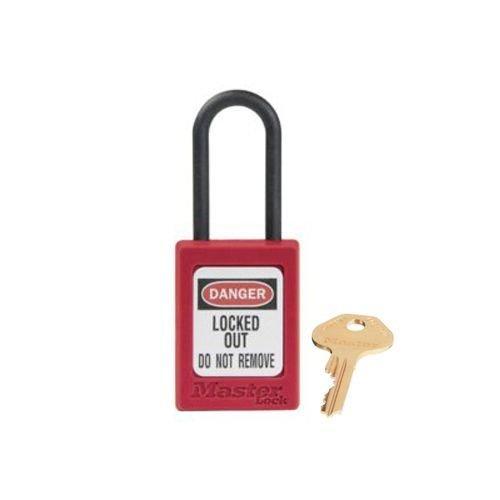 Zenex Sicherheits-vorhängeschloss rot S32RED