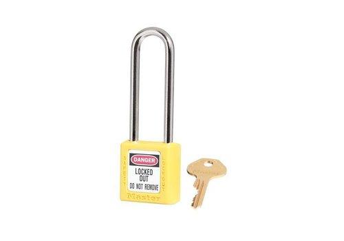 Zenex Sicherheits-vorhängeschloss gelb 410LTYLW