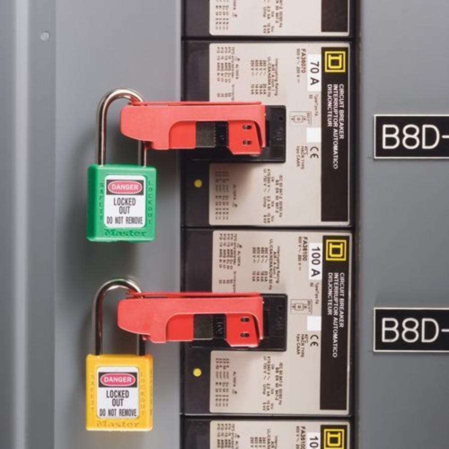 Grip-Tight Leitungsschultzschalter-Verriegelung 491B