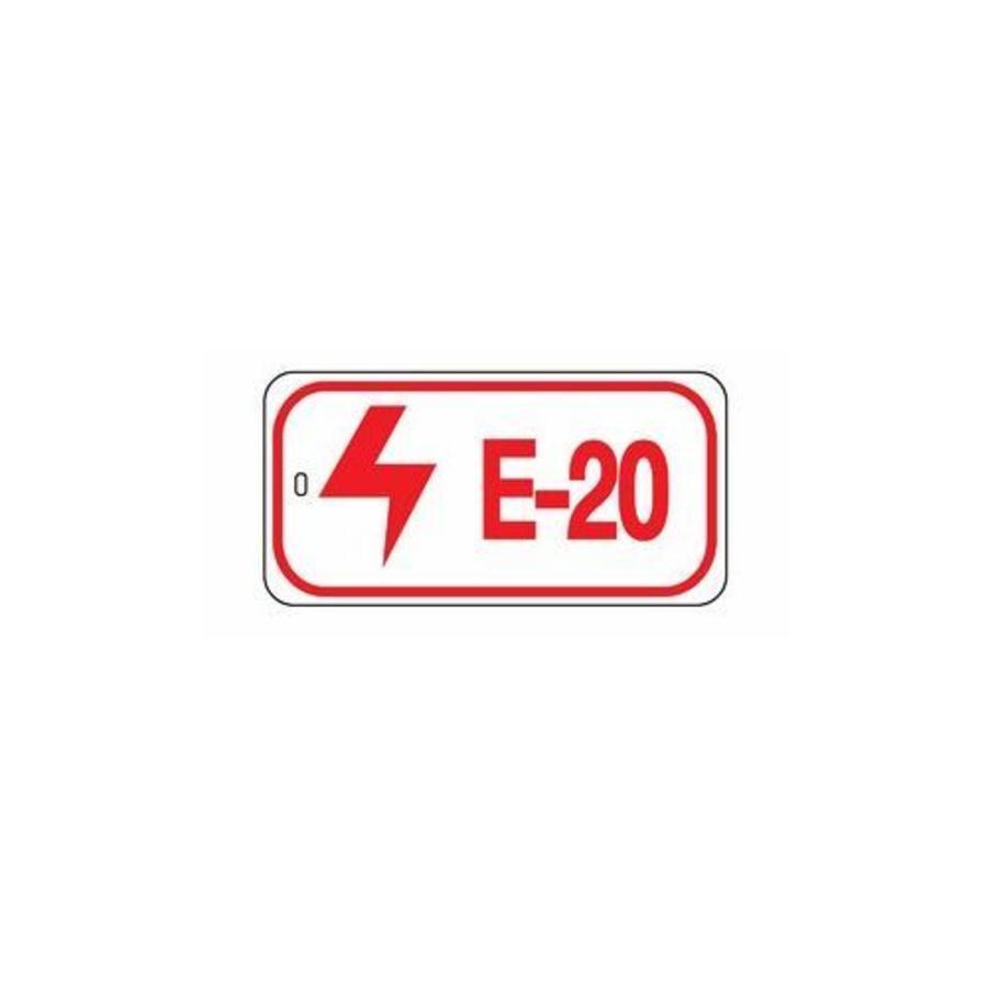 Identifizierungsanhänger elektrischer Verriegelungspunkten